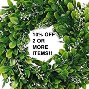 SALE!! 10% OFF 2 + items!
